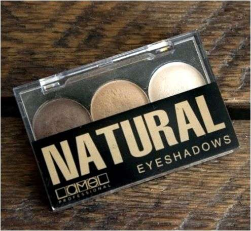 Тени для век Lamel Professional Eyeshadows Natural