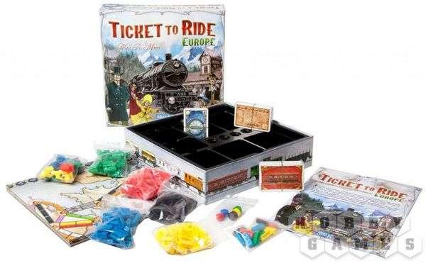 Ticket to Ride. Европа