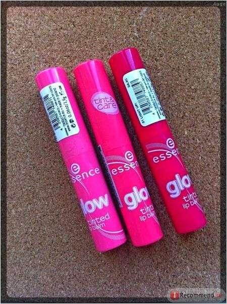 Тинт для губ Essence glow tinted lip balm