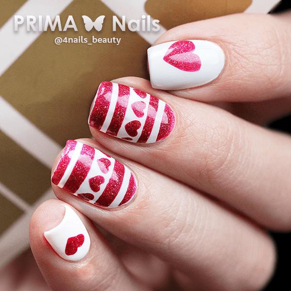Трафареты Prima Nails для дизайна ногтей