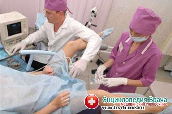 УЗГСС-проверка проходимости маточных труб с помощью узи.