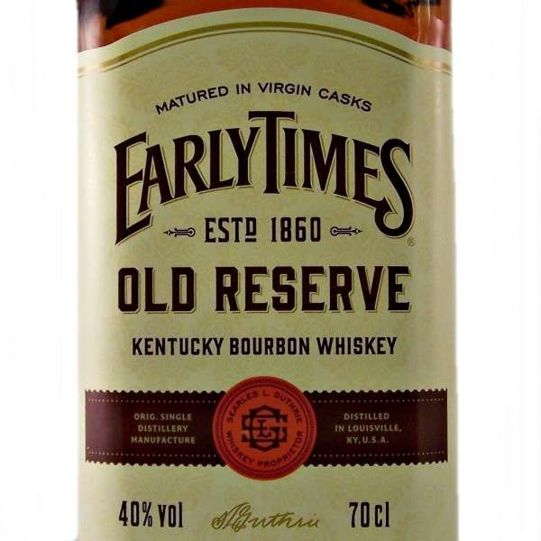Виски Early Times Kentucky Straight Bourbon Whisky