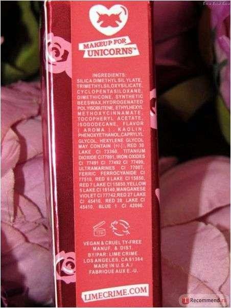 Жидкая матовая помада Aliexpress Makeup Lime Crim Velvetine Liquid Matte RAVE Lipstick in Red Velvet Makeup Lime Lip Gloss 10 colors
